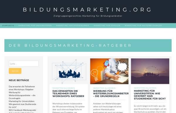 Vorschau von www.marketingfish.de, Marketingfish.de by Schober Information Group (Schweiz) AG