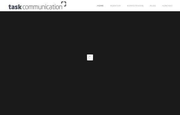 Vorschau von www.task-communication.com, task communication - Agentur für Sponsoring und Sportmarketing