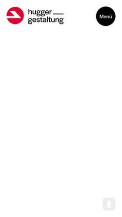 Vorschau der mobilen Webseite www.hugger-gestaltung.de, Hugger_gestaltung GmbH