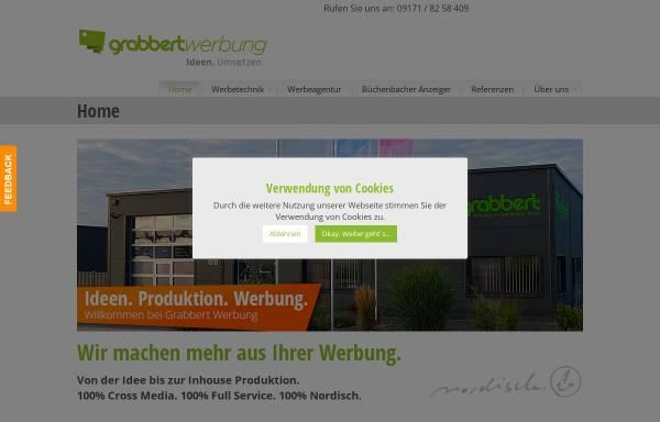 Vorschau von www.grabbert-werbung.de, Grabbert Werbung & Design