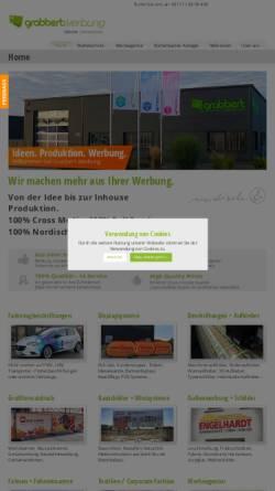 Vorschau der mobilen Webseite www.grabbert-werbung.de, Grabbert Werbung & Design