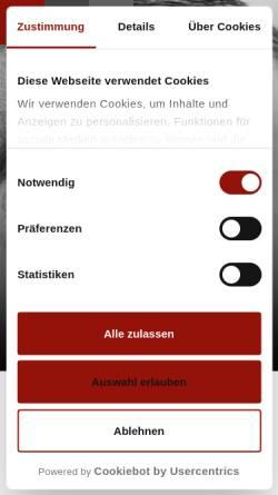 Vorschau der mobilen Webseite www.cp-2.com, CP2 Agentur für Marketing + Werbung