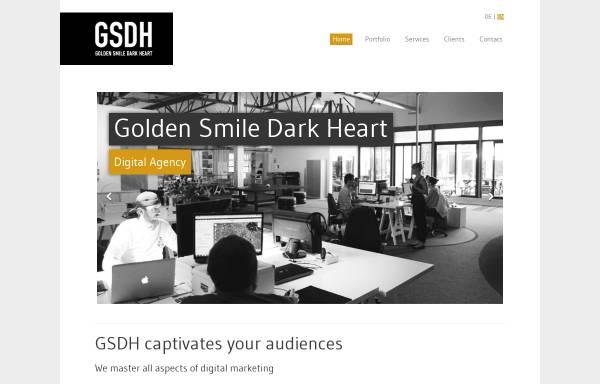 Vorschau von www.gsdh.org, gsdh Kreativagentur