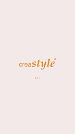 Vorschau der mobilen Webseite www.creastyle.de, Creastyle Media Werbeagentur - Inh. Andreas Gölz