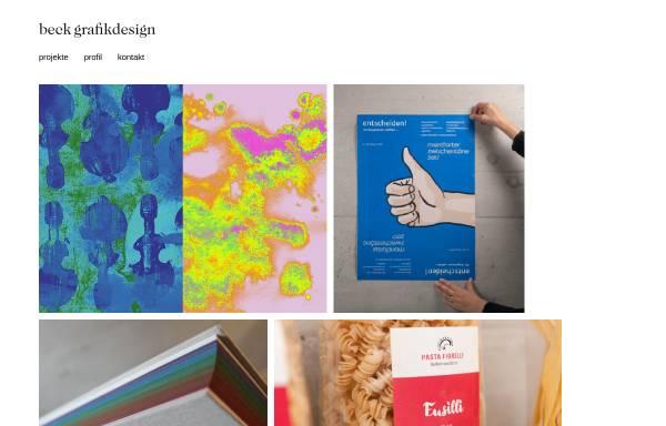Vorschau von www.beck-grafikdesign.li, Beck grafik design est.