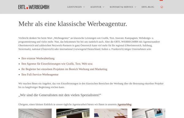 Vorschau von www.ertl.net, Ertl.WerbeGmbH