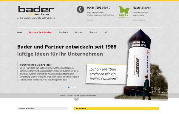 Vorschau von www.bader-partner.at, Bader & Partner GmbH