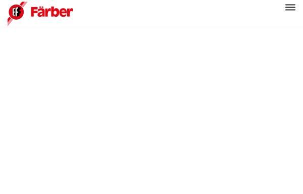 Vorschau von www.faerber.de, Emil Färber GmbH & Co. KG