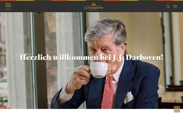 Vorschau von www.darboven.com, J.J. Darboven GmbH & Co. KG