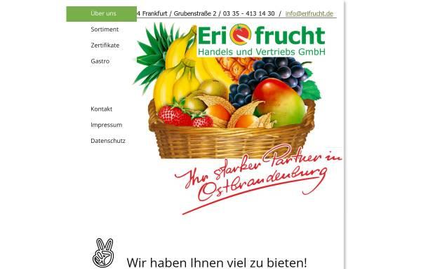 Vorschau von www.erifrucht.de, Erifrucht Handels und Vertriebs GmbH