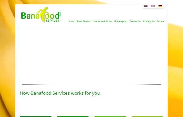 Vorschau von www.banafood.eu, Banafood Services GmbH