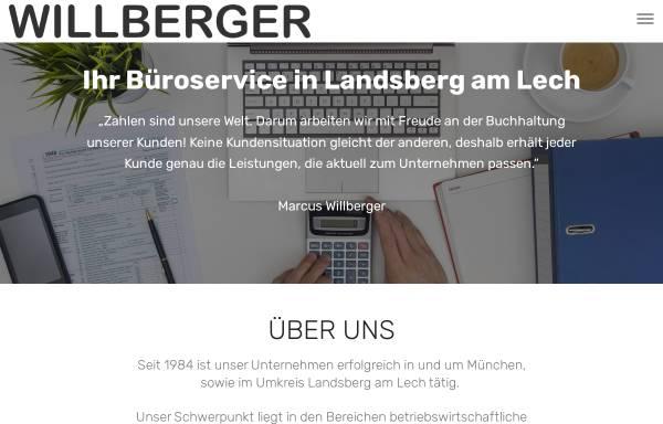 Vorschau von www.willberger.de, Buchhaltung und Büroservice Anette Willberger