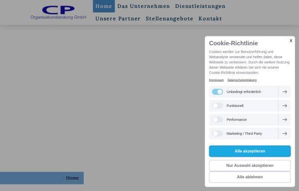 Vorschau von www.cpgmbh.com, CP Organisationsberatung GmbH