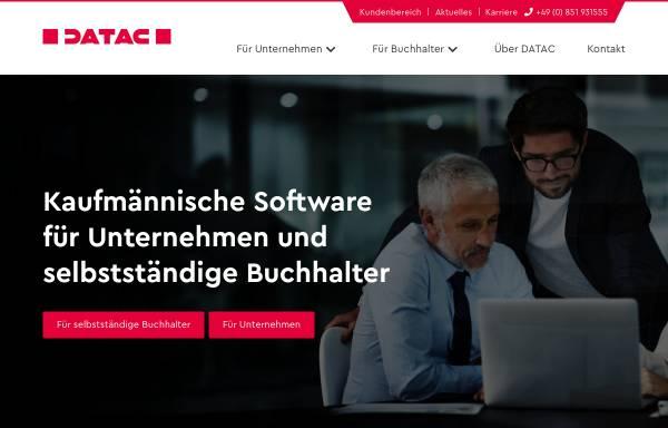 Vorschau von www.datac.de, Datac AG