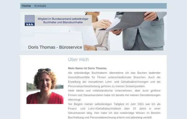 Vorschau von www.doristhomas.de, Doris Thomas - Büro- und EDV-Service
