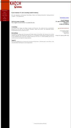 Vorschau der mobilen Webseite www.kasch-solutions.de, Kasch GmbH