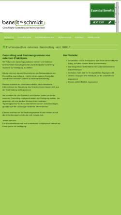 Vorschau der mobilen Webseite www.benefit-by-schmidt.de, Ralf Schmidt