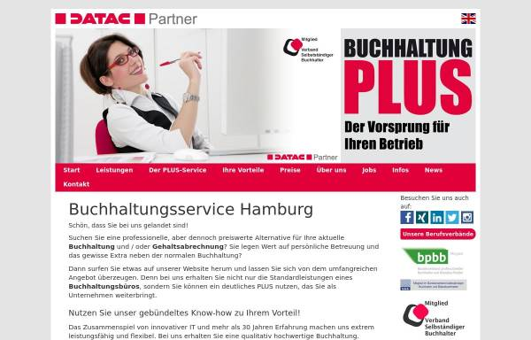 Vorschau von www.buchhaltung-plus.de, Buchhaltung PLUS UG haftungsbeschränkt