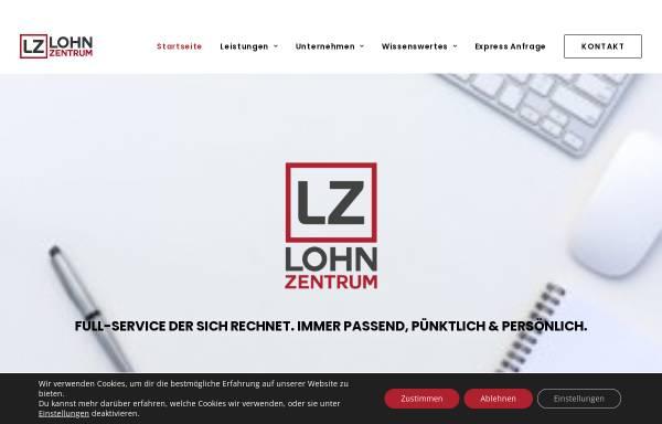 Vorschau von www.lohnzentrum.de, Lohnzentrum (LZ) GmbH & Co. KG