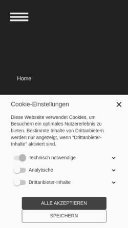 Vorschau der mobilen Webseite www.fpt.ch, FP Flückiger Personaltreuhand, Inh. Regina & Roland Flückiger