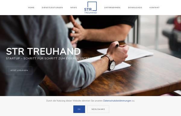 Vorschau von www.str-treuhand.ch, STR Treuhand AG