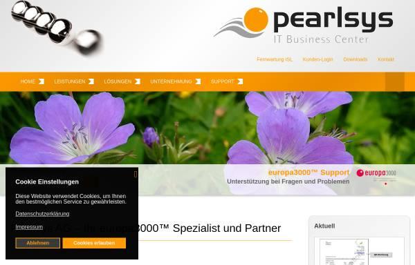 Vorschau von www.pearlsys.ch, Pearlsys AG
