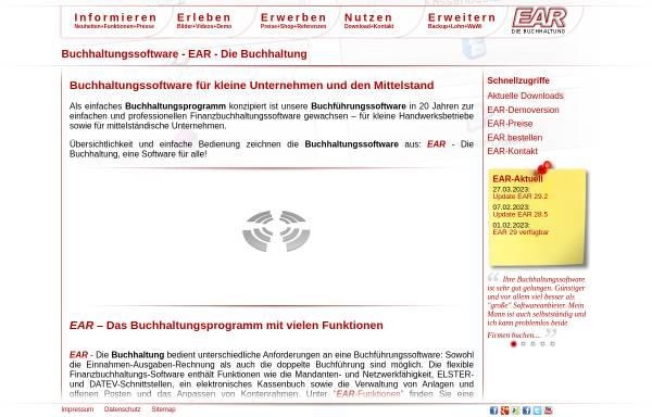 Vorschau von www.ear-buchhaltung.de, EAR, Michael Hertlein