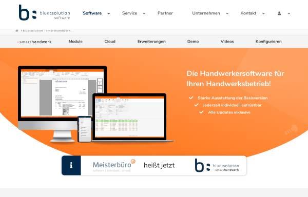 Vorschau von www.meisterbuero.de, Meisterbüro von blue:solution software GmbH