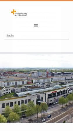 Vorschau der mobilen Webseite www.stbk-sachsen-anhalt.de, Steuerberaterkammer Sachsen-Anhalt K.d.ö.R.