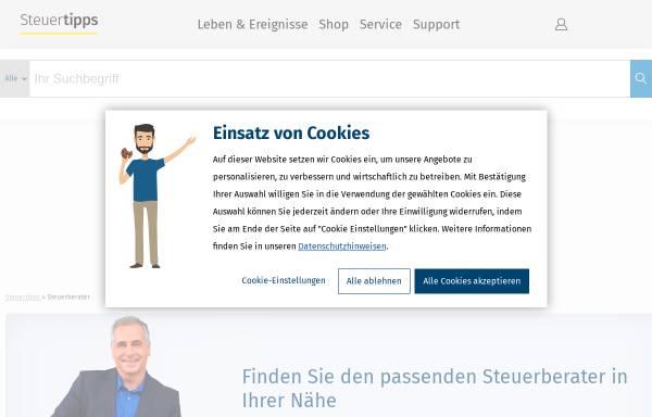 Vorschau von www.steuertipps.de, Wolters Kluwer Deutschland GmbH