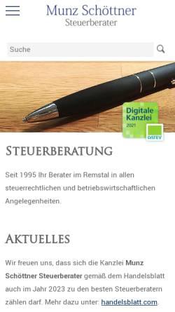 Steuerberater Thomas Munz In Remshalden Grunbach Baden Württemberg