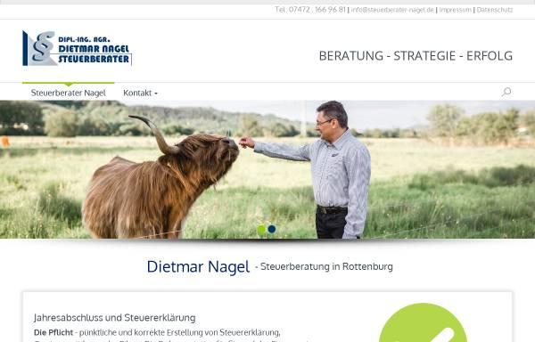 Vorschau von www.steuerkanzlei-nagel.de, Steuerberater Dietmar Nagel