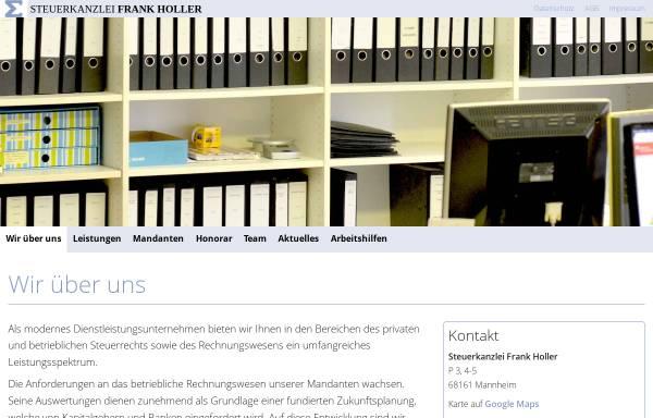 Vorschau von www.holler-schwabeland.de, Steuerkanzlei Frank Holler