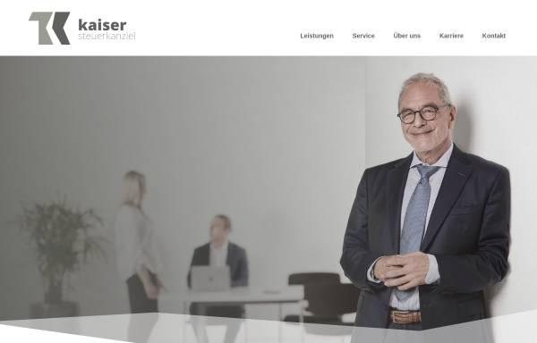 Vorschau von www.kaiserstb.de, Thomas Kaiser - Steuerkanzlei