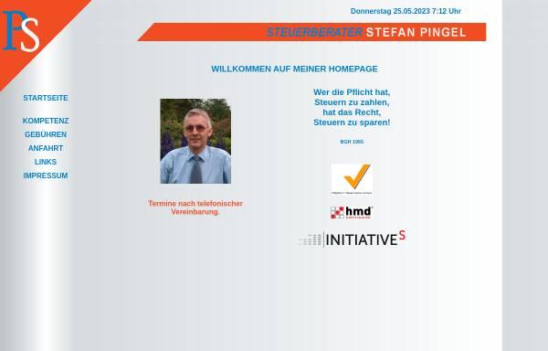 Vorschau von pingel-s.de, Steuerberatung Stefan Pingel