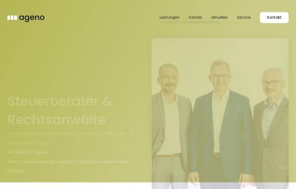 Vorschau von ageno.info, Ageno Dr. Amann Gerauer Nöbauer Partnerschaft