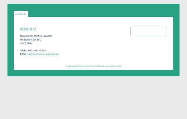 Vorschau von www.nausester.de, Manfred Nausester, Steuerberater