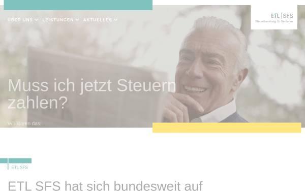 Vorschau von www.etl-sfs.de, SFS GmbH