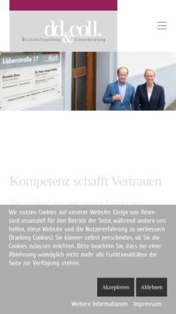 Vorschau der mobilen Webseite www.wp-stb.de, Dr. Hans-Jürgen Müller