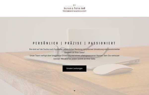 Vorschau von www.irslinger-partner.de, Irslinger und Partner GmbH Steuerberatungsgesellschaft