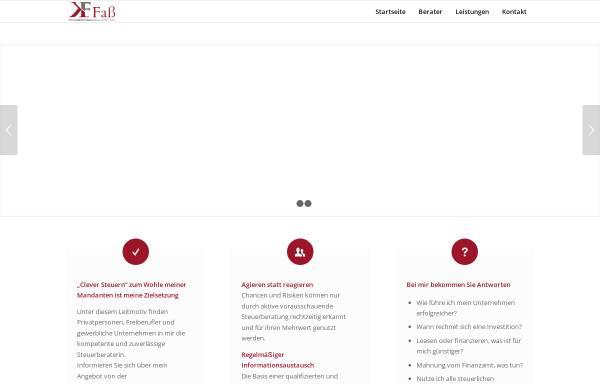 Vorschau von stb-fass.de, Kerstin Faß Steuerberatung