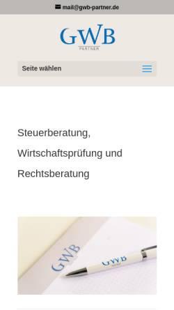 Vorschau der mobilen Webseite www.steuerberatung-kraus.com, Steuerberatung Kraus