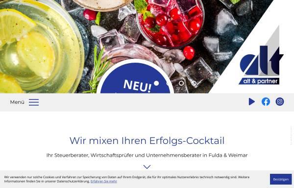 Vorschau von www.alt-partner.de, Alt und Partner - Wirtschaftsprüfer, Steuerberater