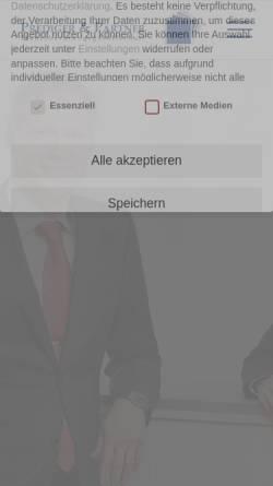 Vorschau der mobilen Webseite www.prediger-partner.de, Prediger und Partner Steuerberater
