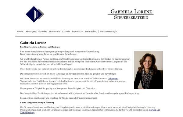 Vorschau von www.steuerberatung-lorenz.de, Steuerberaterin Gabriela Lorenz