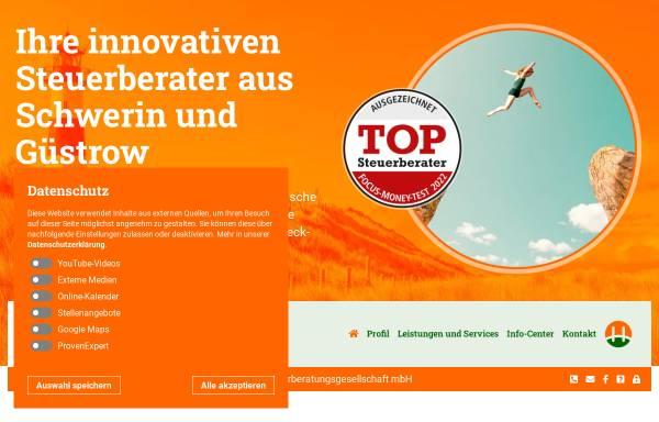 Vorschau von www.hsp-steuerberater-schwerin-wismar-guestrow.de, HSP Steuer in Mecklenburg Raddatz Wild & Reinke Steuerberatungsgesellschaft mbH