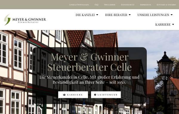 Vorschau von www.meyer-gwinner.de, Meyer & Gwinner - Steuerberater