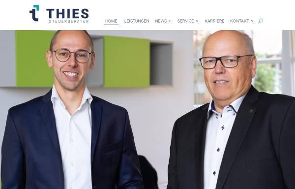 Vorschau von www.thies-steuerberater.de, Steuerberater Manfred Treskatis und Carsten Thies