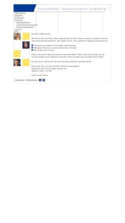 Vorschau der mobilen Webseite www.ursula-peters.de, Steuerberatung Ursula Peters