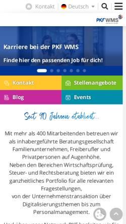 Vorschau der mobilen Webseite www.konrad-kurt-nee.de, Steuerberater Konrad Kurt Nee